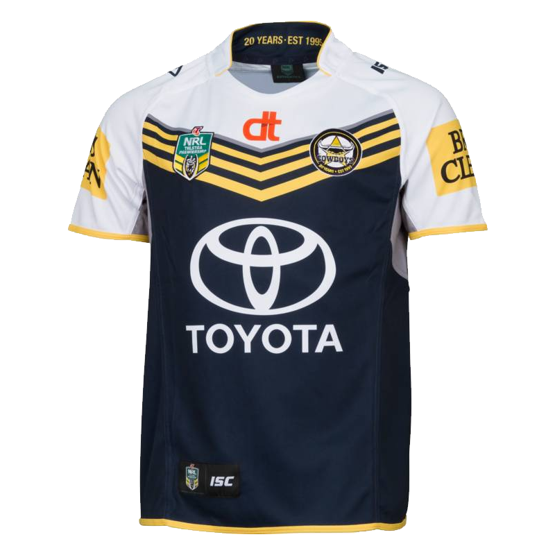 Buy 2015 North Queensland Cowboys Home Jersey - Mens - Your Jersey 3beb96850