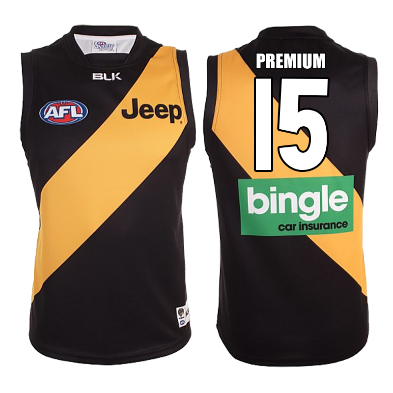 32f217619 Personalised Richmond Tigers Jerseys, Jumper and Guernsey