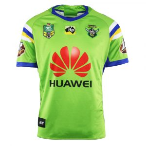 2018 Canberra Raiders Home Mens Jersey - Front