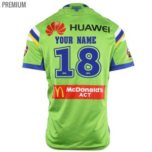2018 Canberra Raiders Home Mens Jersey - Premium