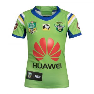 2018 Canberra Raiders Home Womens Jersey - Front