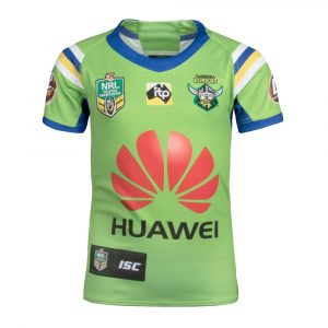 2018 Canberra Raiders Home Youth Jersey - Front