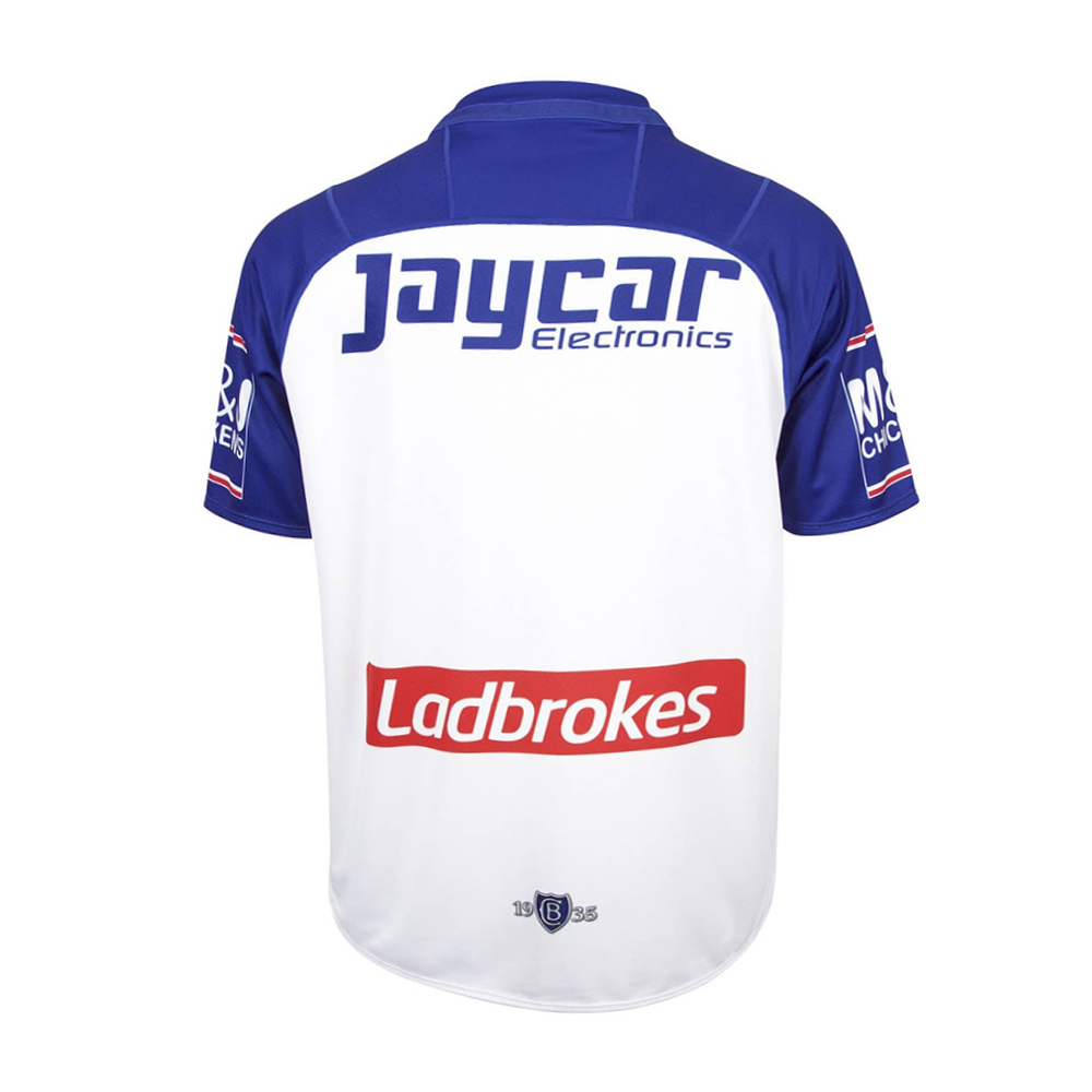 2018 Canterbury Bulldogs Home Mens Jersey - Back View