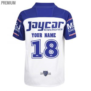2018 Canterbury Bulldogs Home Youth Jersey - Premium