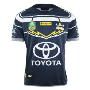 2018 North Queensland Cowboys Home Mens Jersey - Front