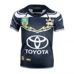 2018 North Queensland Cowboys Home Youth Jersey - Front