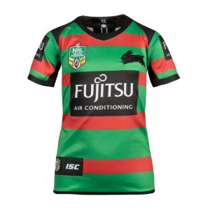 2018 South Sydney Rabbitohs Jersey Home Womens - Front