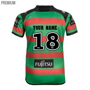 2018 South Sydney Rabbitohs Jersey Home Youth - Premium