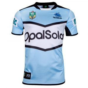 2018 Cronulla Sharks Home Mens Jersey - Front