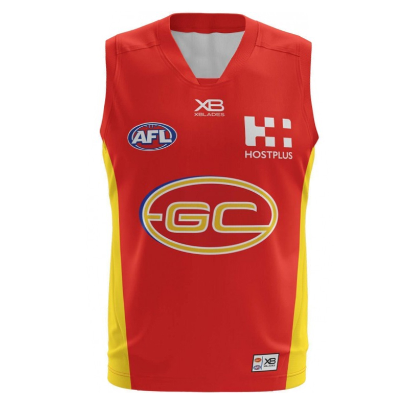 2018 Gold Coast Suns Home Mens Jumper - Front