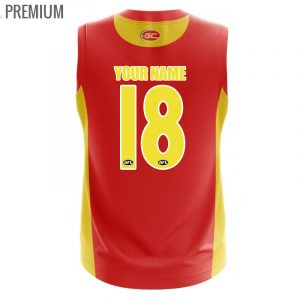 2018 Gold Coast Suns Home Mens Jumper - Premium