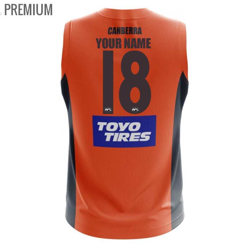2018 GWS Giants Home Mens Jumper - Premium