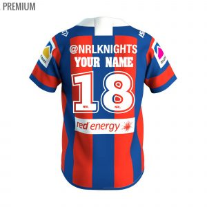 2018 Newcastle Knights Home Youth - Premium