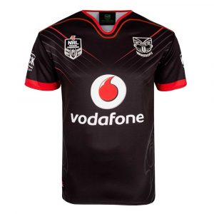 2018 New Zealand Warriors Home Mens Jersey - Front
