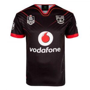 2018 New Zealand Warriors Home Mens Jersey - Front