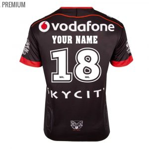 2018 New Zealand Warriors Home Mens Jersey - Premium