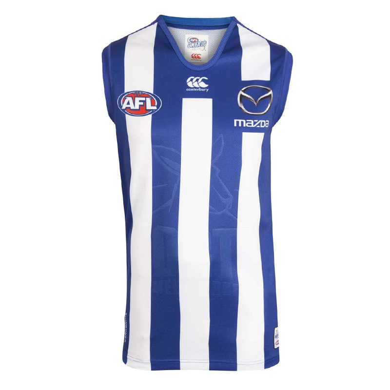 2018 North Melbourne Kangaroos Home Mens Jumper - Front