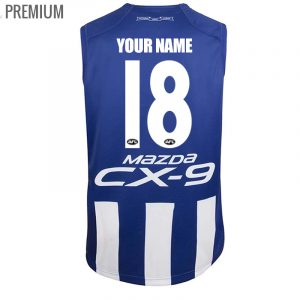 2018 North Melbourne Kangaroos Home Mens Jumper - Premium