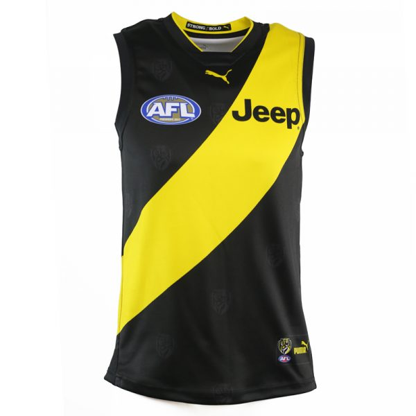 2018 Richmond Tigers Home Mens - Front