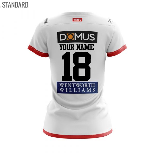 2018 St George Illawarra Dragons Home Womens Jersey - Front