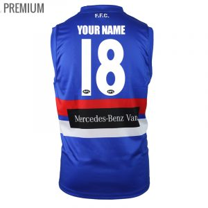 2018 Western Bulldogs Home Mens - Premium