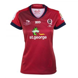 2018 Queensland Reds Home Womens - Front