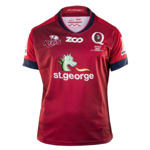 2018 Queensland Reds Home Youth - Front