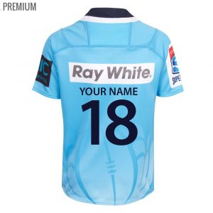 2018 NSW Warratahs Home Youth - Premium