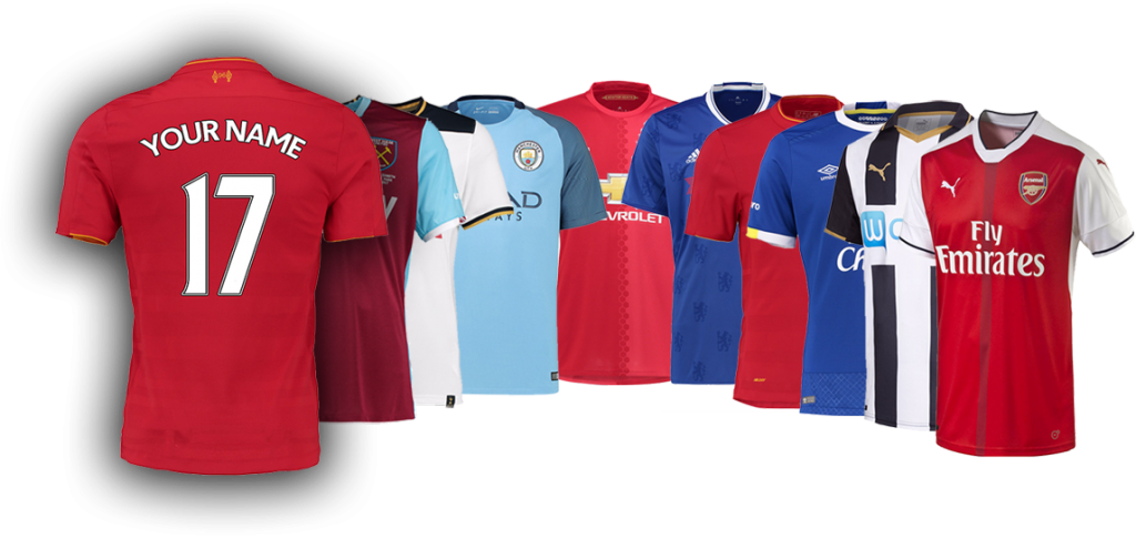 the latest 3e9a2 43b84 English Premier League - Your Jersey