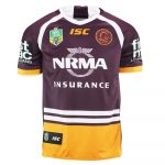 2018 Brisbane Broncos Heritage Mens Jersey - Front