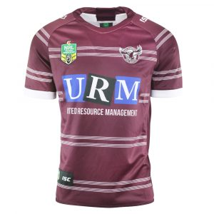 2018 Manly Sea Eagles Home Mens Jersey - Front