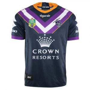 2018 Melbourne Storm Home Mens Jersey - Front