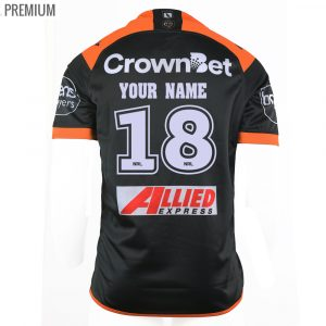 2018 Wests Tigers Home Mens Jersey - Premium