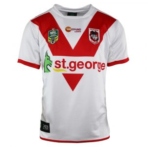 2018 St George Illawarra Dragons Home Mens Jersey - Front