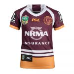 2018 Brisbane Broncos Home Youth Jersey - Front