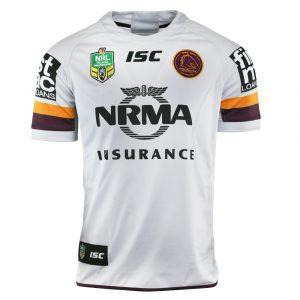 2018 Brisbane Broncos Away Mens Jersey - Front