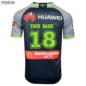 2018 Canberra Raiders Away Mens Jersey - Premium