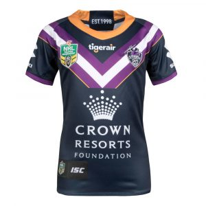 2018 Melbourne Storm Home Womens Jersey - Front