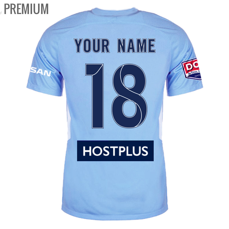 201718 melbourne city Home premium