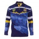Personalised NRL Cowboys Fishing Shirt - Front View