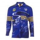 Personalised NRL Parramatta Eels Fishing Shirt - Front Personalisation