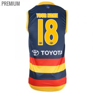 2018 Adelaide Crows Home Mens Jersey - Premium