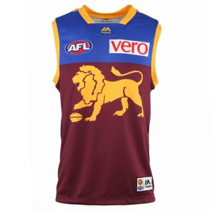 2018 Brisbane Lions Home Mens Jersey