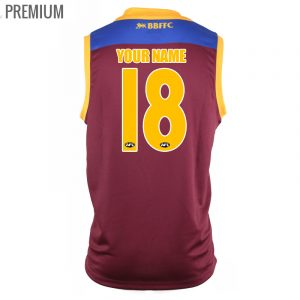2018 Brisbane Lions Home Mens - Premium