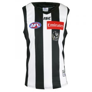2018 Collingwood Magpies Home Mens - Front