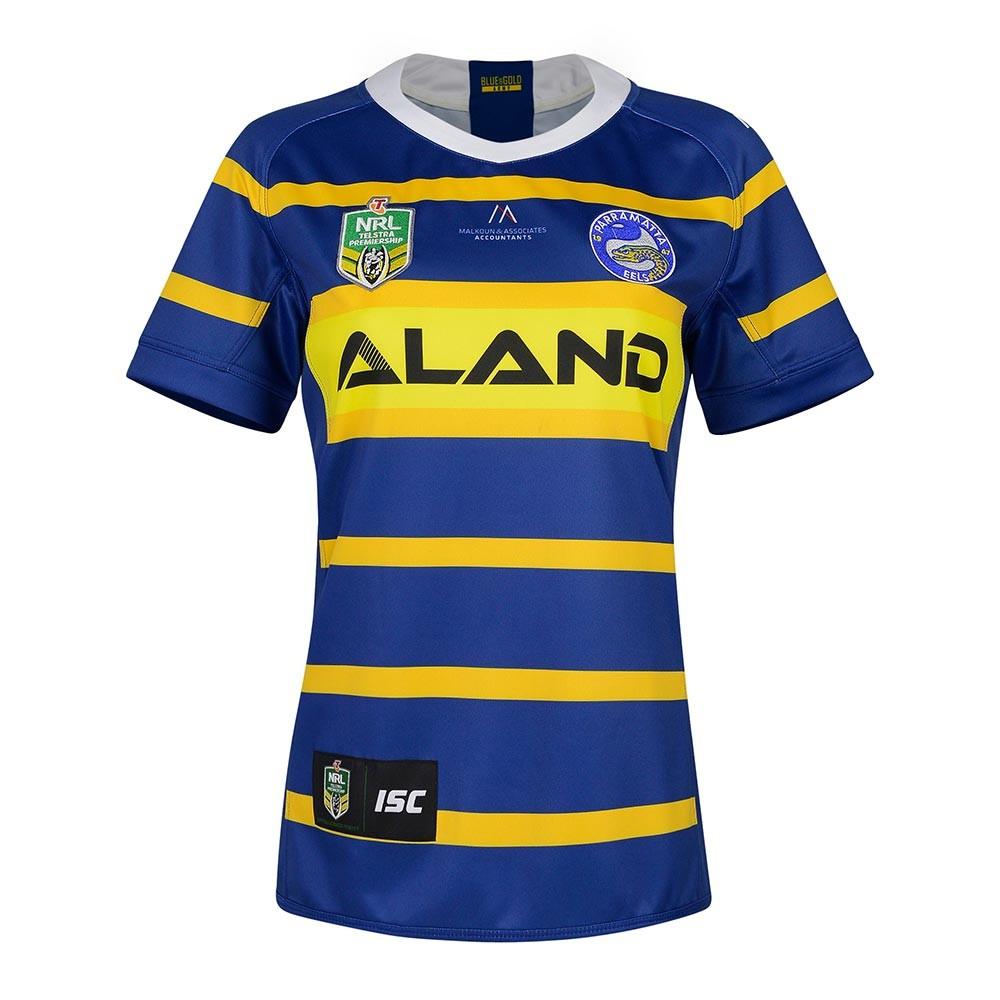 2018 Parramatta Eels Home Womens Jersey - Front