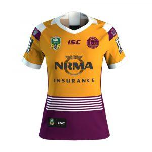 2018 Brisbane Broncos Heritage Womens Jersey - Front