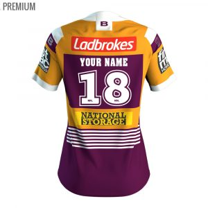 2018 Brisbane Broncos Heritage Womens Jersey - Premium