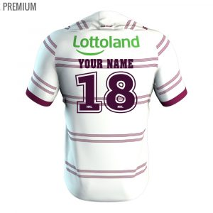 2018 Manly Sea Eagles Away Mens Jersey - Premium