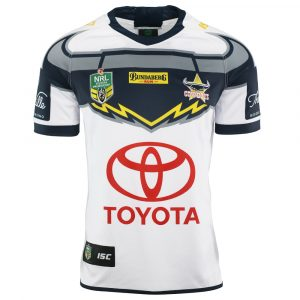 2018 North Queensland Cowboys Away Mens Jersey - Front